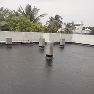 Dr Fixit Roof seal for new terrace with high elongation