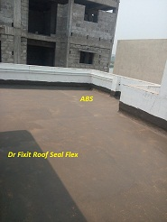 Dr Fixit Roof Seal flex for new concrete slab